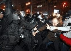 Ночной штурм Евромайдана