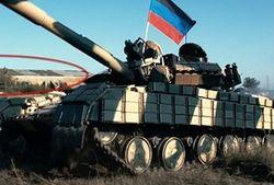 Через Енакиево на Донецк проехали 4 танка, 3 САУ и другая техника