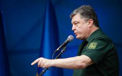 Особый статус Донбасса внесут в Раде на следующей неделе – Порошенко