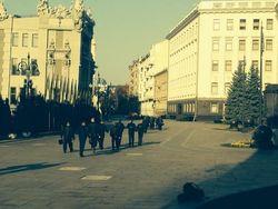 Бунтующие в Киеве под АП срочники Нацгвардии вернулись в казармы