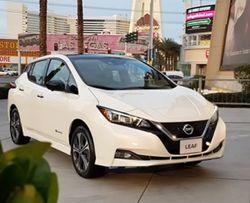 Представлен Nissan Leaf с запасом хода 363 км