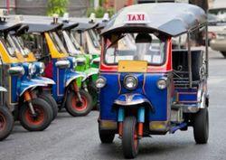 В Бангкоке для туристов будет работать бесплатное такси «тук-тук»