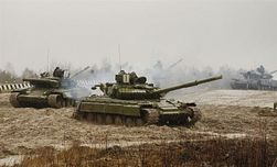 СНБО: в Ростовской области обнаружены танки с украинской символикой
