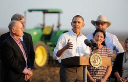 Обама намерен потратить 1 миллиард долларов на борьбу с засухой в Калифорнии