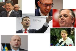 33 самых цитируемых политика Украины июля 2014г. в Интернете