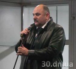 Мэр Енакиево Валерий Олейник