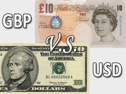 Фунт вырос против курса доллара на 0,34% на Форекс