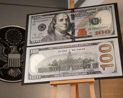 Новые купюры 100 долларов США появятся в Украине через пару дней