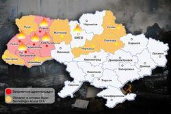 Областные администрации штурмовали в большинстве регионов Украины