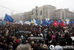 Украина: в парламенте предлагают ввести запрет ЧП во время массовых акций