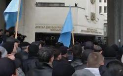 Под возгласы «Аллах Акбар» крымские татары заявили о единстве Украины