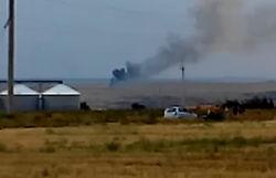Летчик сбитого террористами Ми-29 вышел к своим