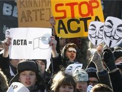 Европарламент забраковал антипиратское соглашение