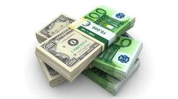 Курс евро на Forex снизился к доллару на американской сессии