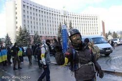 В Ивано-Франковске началась  забастовка студентов