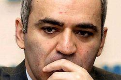 Каспаров выступил с лекцией в киевском университете им. Шевченко