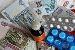 Лекарства в России подорожали на 23 процента при инфляции 12,9 процента