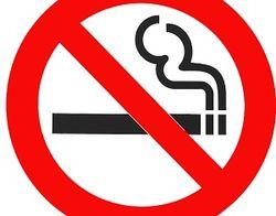 В России начали штрафовать за курение в общественных местах
