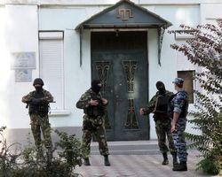 Власти Крыма опять устроили обыск в здании Меджлиса