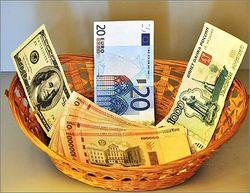 Курс доллара и курс евро к рублю на завтра выросли на 6 копеек