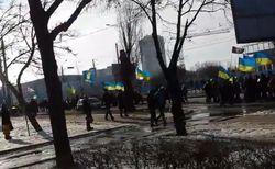 На Youtube выложили момент взрыва в Харькове