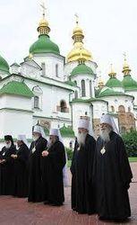 За мир и Украину сегодня помолятся в Софии Киевской