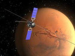 Mars Express отметил свое 10-летие на орбите