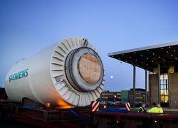 Газовая турбина Siemens