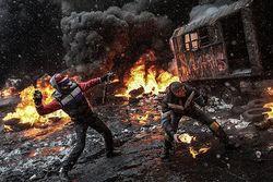МВД сообщило о втором раненом при взрыве на Евромайдане