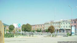 Опустелый Андижан встретил президента Узбекистана Ислама Каримова
