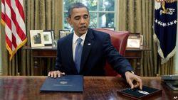 Барак Обама на рабочем месте