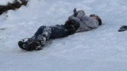 МВД: найденный на Оболони мужчина умер от обморожения