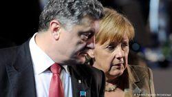Меркель настаивает на полном выводе российских войск из Донбасса