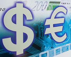 Курс евро корректируется к доллару на Forex