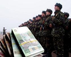 Зарплаты военнослужащих Украины с 1 марта повышаются в 2,5 раза – Яценюк