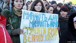 """МВД открыло """"горячую линию"""" для студентов, которых преследуют за Майдан"""