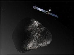 НАСА начинает проверку всех систем на борту зонда Rosetta