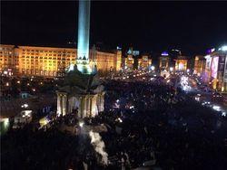 Евромайдан требует от Януковича отчета о тайных встречах с Путиным