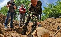 В Украине продолжают массово хоронить неопознанных бойцов АТО