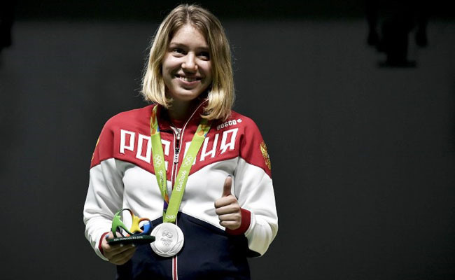 Россиянки Бацарашкина иКоршунова выиграли квалификацию встрельбе изпистолета