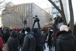 В Днепропетровске во время штурма ОГА ранили журналистов