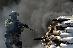 Террористы оборудуют огневые точки в жилых домах и больницах – спикер АТО