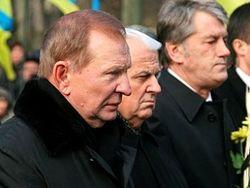 Леонид Кучма, Леонид Кравчук и Виктор Ющенко