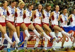 Спустя 12 лет Россия вернула звание чемпиона по волейболу