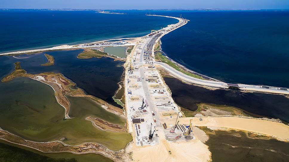 «Стройгазмонтаж» вполне может стать подрядчиком возведения ж/д подходов кмосту вКрым