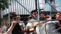 В Хабаровске подрались 40 трудовых мигрантов из Центральной Азии