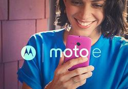 Motorola представила бюджетный смартфон Мото E