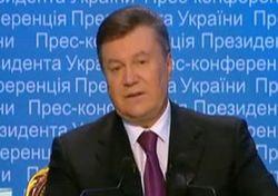 Янукович дал интервью четырем украинским телеканалам