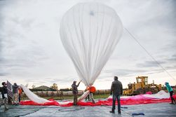 Google тестирует воздушные шары Project Loon