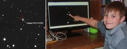 Десятилетний школьник открыл взрыв сверхновой звезды